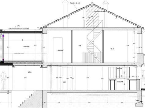 Plan De Coupe Maison 775 by Plan De Coupe Maison Plan De Maison Upload Photos