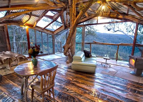 coolest treehouse in the world the world s best treehouse with a spa blue mountains