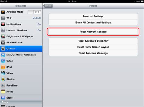 resetting wifi ipad configuration vunet ipad wireless network
