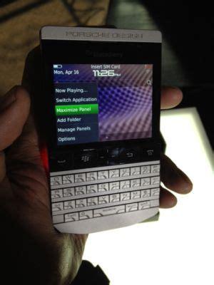 Baterai Blackberry Porche Design 9881 Original blackberry porsche of