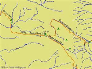 julian california ca 92036 profile population maps