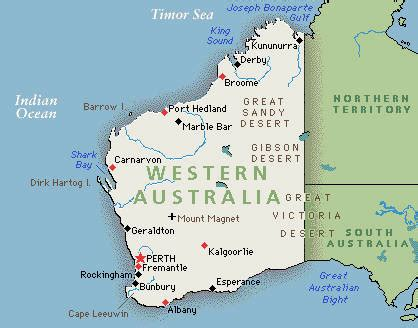 map of western australia living in perth western australia and debts in