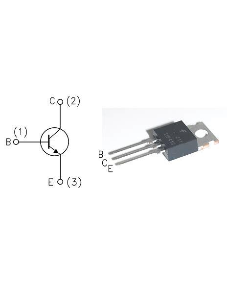 transistor npn de potencia transistores transistor npn de potencia tip41c