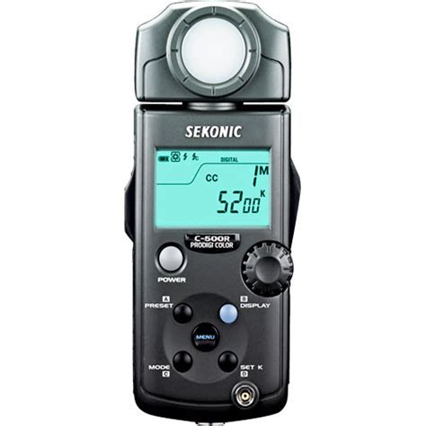 500 to meters sekonic prodigi color c 500 color meter 401 500 b h photo