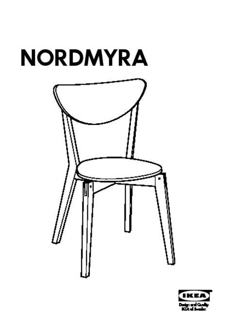 table de cuisine pliante avec chaises int馮r馥s nordmyra chaise notice de montage with ikea chaises