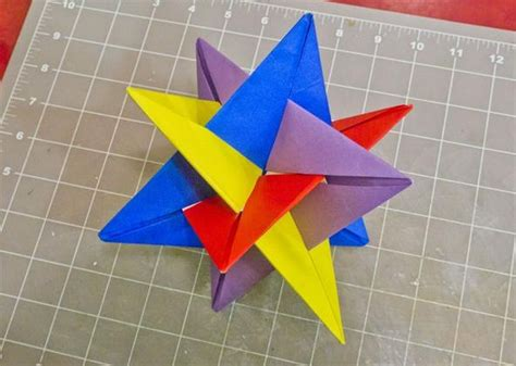Maths Origami - math craft monday community submissions plus how to make