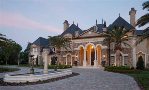 chateau design custom architectural period details historic traditional