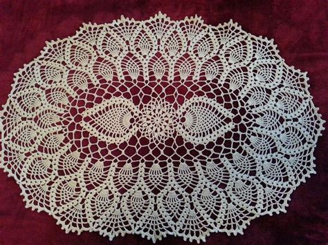 youtube doily pattern oval pineapple doily video tutorial on jeego crochet