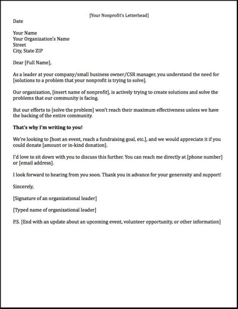 Corporate Sponsorship Letter For Mba by Sponsorship Letters Write Great Proposals With 12 Templates