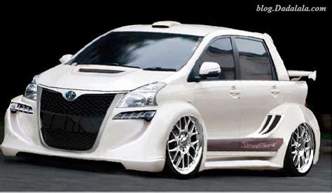 Lu Utama Mobil Avanza 10 foto modifikasi mobil avanza terbaru ini bikin ngiler