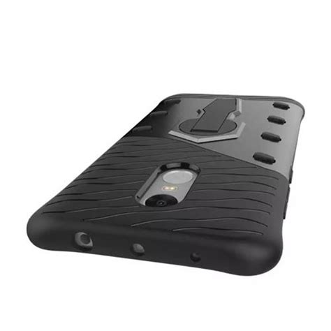 Xiaomi Mi4s Casing Armor Rugged With Stand Tempered Gl T2909 armour series rotating bracket for xiaomi redmi note 4 black
