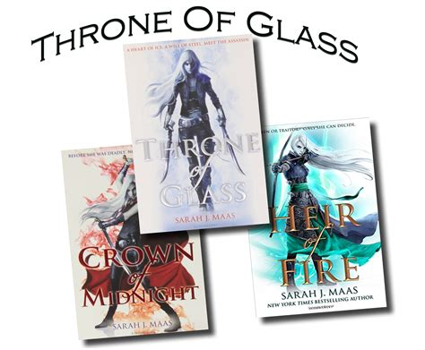 j maas 3 books collection set pack throne of glass