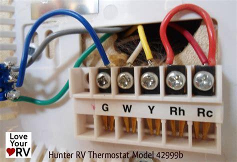 hunter  digital rv thermostat upgrading  oem