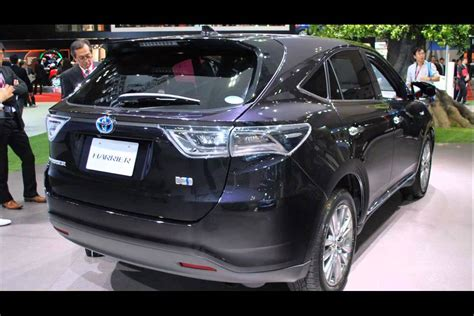 toyota new model 2015 model new toyota harrier youtube