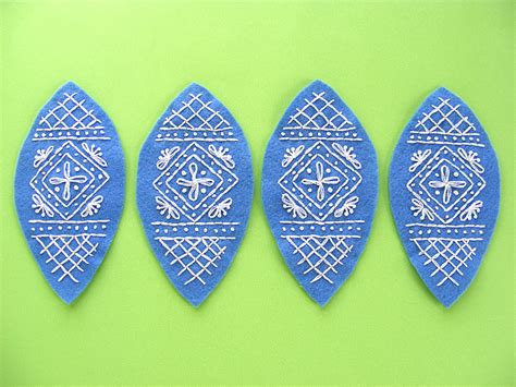 felt egg pattern easter craft ideas free embroidered felt egg pattern