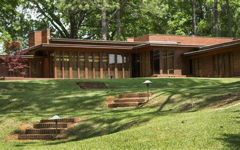 Open House Designs why frank lloyd wright s rosenbaum house is one of alabama