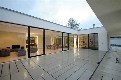 Bungalow Mit Innenhof by Radikaler Umbau Haus 60er Sanierung Und Renovierung