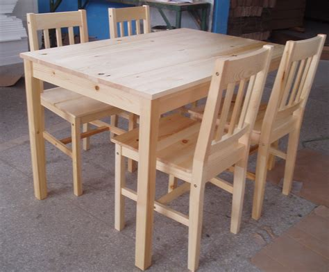 Pine Dining Table And Chairs Pine Dining Room Table And Chairs