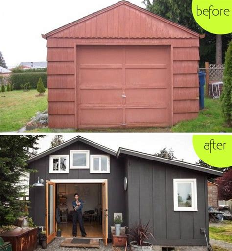 amazing garages transformed into homes boring garage turned into fancy small home in seattle