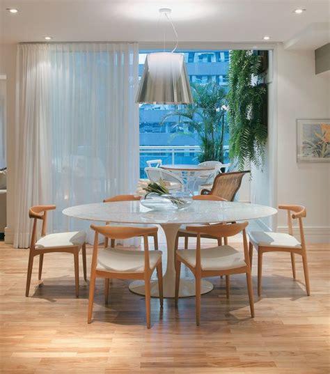 escritorio zanin 15 ideias para salas de jantar mesa redonda