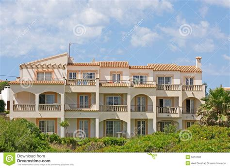 spanish appartment spanish apartment block stock photography image 5610182