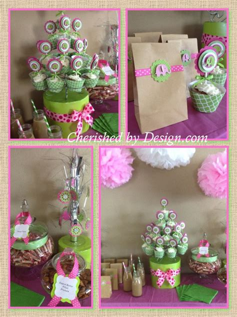 Baby Shower Pink And Green by Pink And Green Baby Shower Themes Www Imgkid The