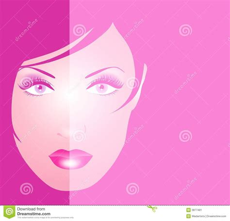 Avi 2 Tone Color Pink pink 2 tone of background stock illustration image 3877481