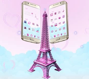 Blink Eifel 1 3d pink eiffel tower android apps on play