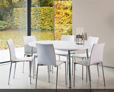 Impressionnant Conforama Table Cuisine Avec Chaises #6: cuisine-table%20ronde-me%CC%81lamine%CC%81%20blanc-chrome%CC%81%20brillant-.bmp