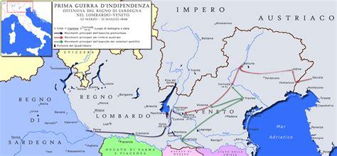 mappa concettuale l impero austro ungarico e europa file prima guerra indipendenza 1 fase mappa jpg