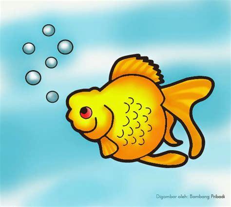 Step By Step Mewarnai Binatang mewarnai binatang ikan maskoki