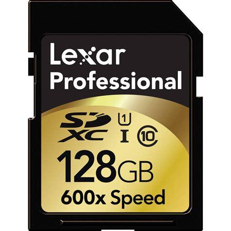 Memory Card Sdxc lexar 128gb sdxc memory card professional class lsd128crbna600
