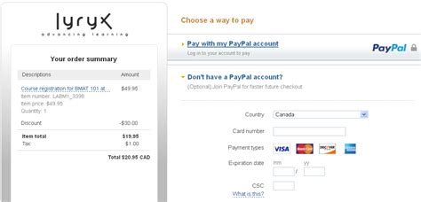 Credit Card Form Filling How Do I Register In A Lyryx Course If I M New To Lyryx Powered By Kayako Help Desk Software