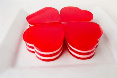 valentines day jello jello hearts for s day the bearfoot baker