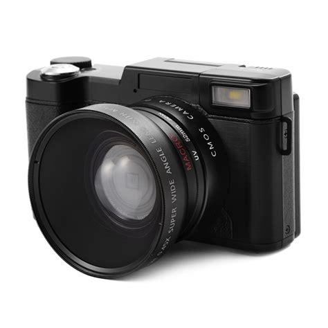 Lcd Kamera Olympus 24mp digital kamera fhd 1080p flip screen 3 0 quot lcd
