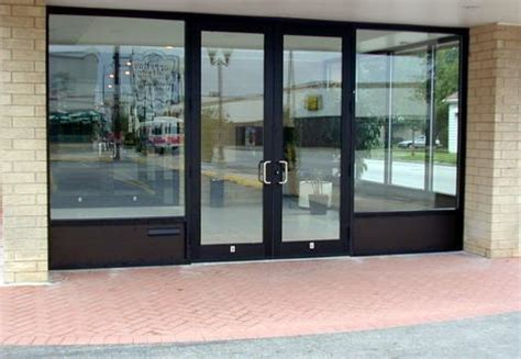 Glass Door Store by Vinyl Window Manufacturers And How To Select A Vinyl Window Storefront Doors Commercial