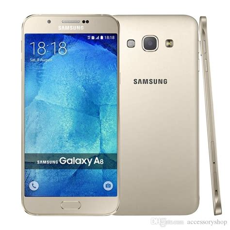 Samsung A8 Ram 2gb Original Refurbished Samsung Galaxy A8 A8000 Dual Sim 5 7