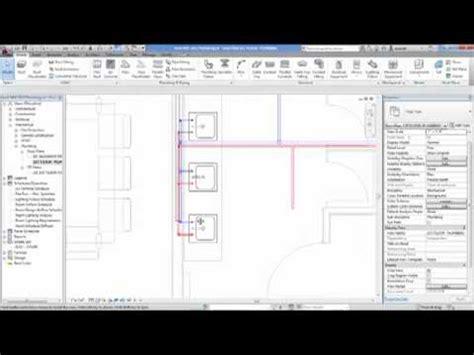 tutorial revit mep 2012 pdf revit mep 2012 modeling with plumbing youtube