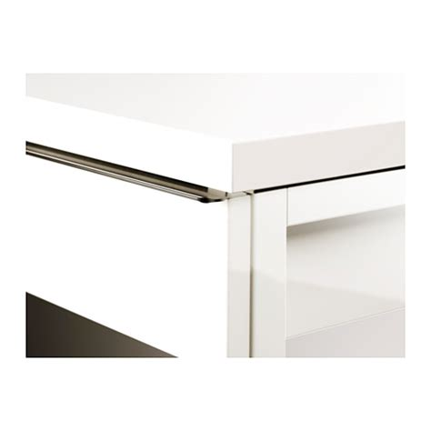 besta burs best 197 burs desk high gloss white 120x40 cm ikea