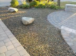 Sand Yard Gravel And Grass Landscaping Ideas Landscaping