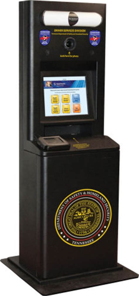 digital perm locations tn tennessee deploys driver license renewal kiosks secureidnews