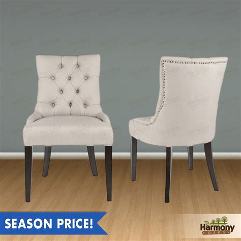 Dining Chairs With Nailheads Tufted Dining Chairs With Nailheads 44 Photos 561restaurant