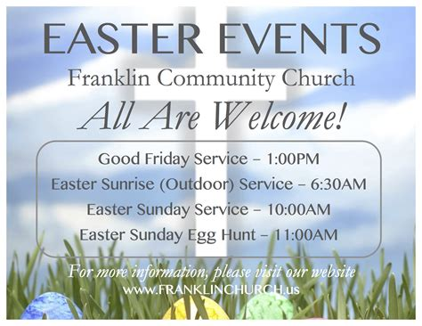songs for easter sunday service franklin community church worship service