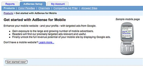 adsense for mobile google adsense for mobile google publicly launches