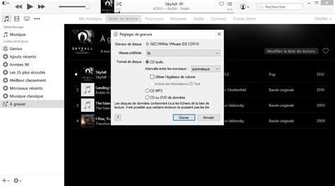 Format Audio Lecture Cd | graver un cd audio avec itunes pei