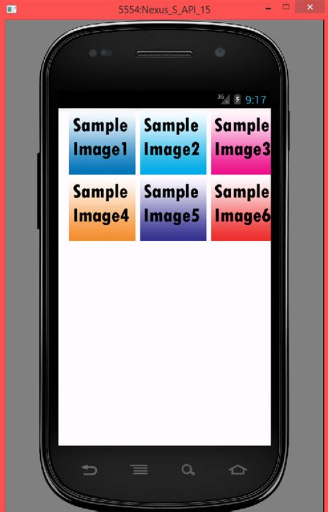 android tutorials for beginners android gridview exle android gridview exle tutorial android exles