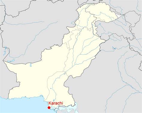 where is karachi on the world map maps world map karachi