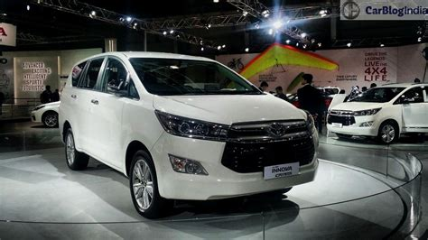 Toyota New Car 2016 Toyota Innova Crysta Launch Price Specifications