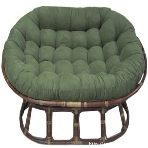 green large papasan cushion