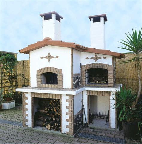forni a legna con barbecue da giardino forni a legna da giardino in muratura barbecue e forno in